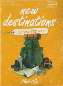 New Destinations Beginners A1.1 Class CDs (2)
