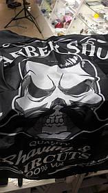 Накидка BARBER черная