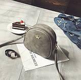 Женская мини сумка с короной, фото 5