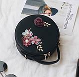 Модная женская сумочка цветы, фото 2