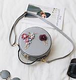 Модная женская сумочка цветы, фото 4