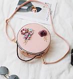 Модная женская сумочка цветы, фото 8