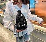 Стильная женская сумка бананка, фото 4