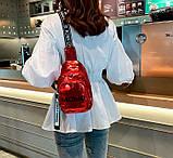 Стильная женская сумка бананка, фото 5