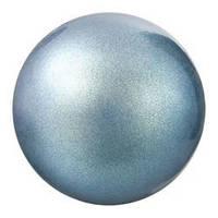 Кабошоны  в цапах Preciosa (Чехия) 4 мм Pearlescent Blue/серебро