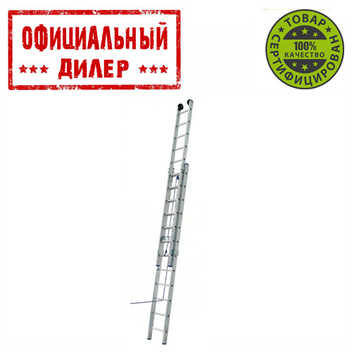 Купить Лестница алюминиевая на канатной тяге Elkop 2-х секц.VHR L 2X20