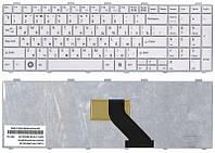 Клавиатура для ноутбука Fujitsu LifeBook (A530, A531, AH512, AH530, AH531, NH751) White, RU