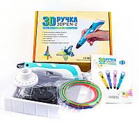 3D Ручка для детей 3Д RXstyle RP-100B Pen с LCD дисплеем второго поколения разных цветов