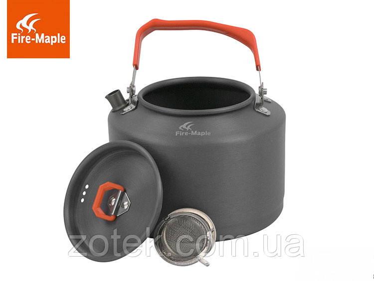 Чайник туристический походный 1,6 Литр Fire Maple FMC-T4  анодированный алюминий