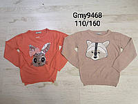 Свитера для девочек оптом, Glo-story, 110-160 см,  № GMY-9468