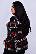 Чорний в'язаний светр з горлом Стимул, фото 3