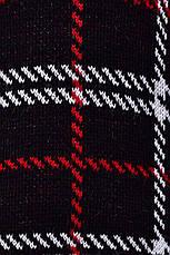 Чорний в'язаний светр з горлом Стимул, фото 2