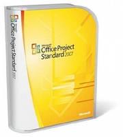 Microsoft Office Project Standard 2007, BOX (076-03763) повреждена упаковка!