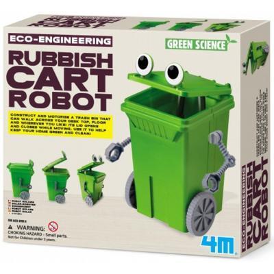 Набор для экспериментов 4М Робот-мусорный бак (00-03371)
