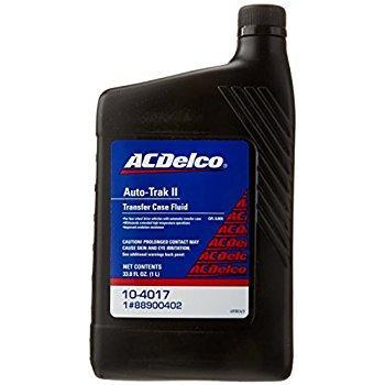 Масло в раздаточную коробку Autotrack II (2) 1quart ACDELCO 104017