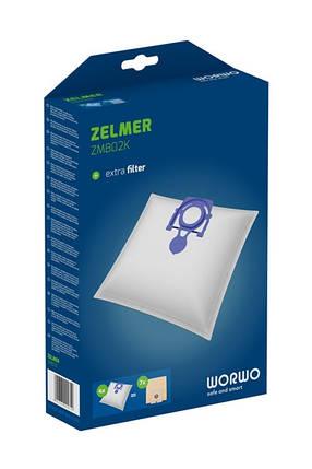 Комплект мешков для пылесоса Zelmer 919 49.4020, фото 2