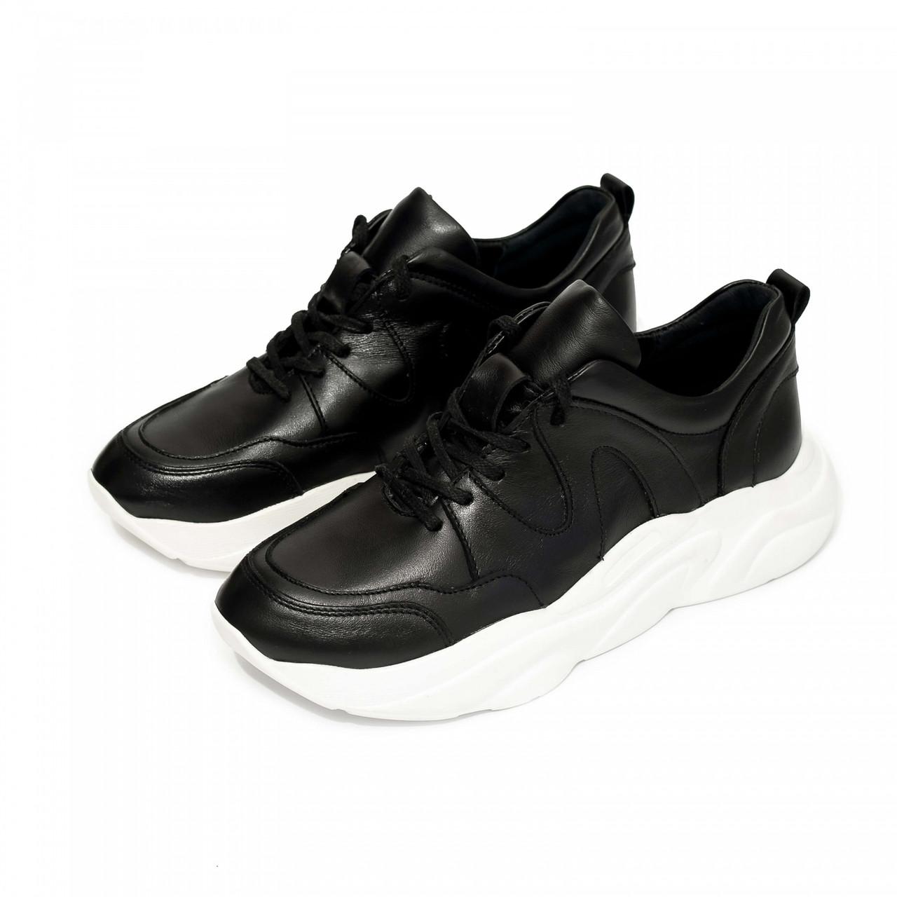 Кроссовки Paranova shoes Combo Black and White 40 Черные (100010_40)