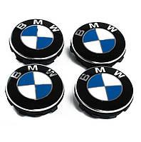Оригинальные фиксированные колпачки ступиц колес BMW, 36122455269 (65 мм)
