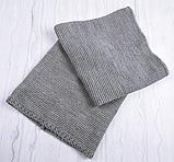 М 94028. Комплект зимний для девочки  шапка с помпоном и снуд , разные цвета, фото 9