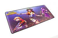 БОЛЬШОЙ геймерский коврик для мышки игровая поверхность  BATTLEGROUNDS MIX R-700 (70х30см), фото 1