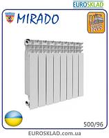 Радиатор биметаллический MIRADO 500/96. Украина.