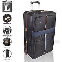 Недорогой качественный чемодан черный