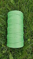 Полиэфирный шнур без сердечника 5мм №29 Светло-зелёный