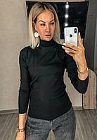 Гольф горло стойка однотонный женский (ПОШТУЧНО), фото 1