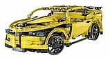 """Конструктор CaDa C51008W радиоуправляемый  """"Спортивный автомобиль"""" с аккумулятором, 419 деталей, фото 2"""