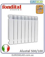 Радиатор биметаллический FONDITAL ALUSTAL 500/100. Италия.