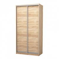 Раздвижная система для шкаф-купе Новатор 287\2 для дверей весом до 40 кг и рельса 1.5м