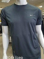 Футболка для мужчин (спортивная футболка) хорошего качества Темно-серый, 3XL