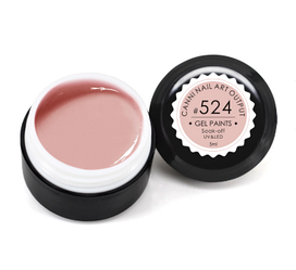 Гель-краска CANNI 5мл №524 розово-бежевая