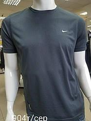 Футболка для мужчин (спортивная футболка) хорошего качества Темно-серый, S