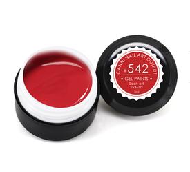 Гель-краска CANNI 5мл №542 темно-красная