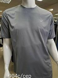Футболка для мужчин (спортивная футболка) хорошего качества Светло-серый, L