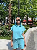 Женский однотонный костюм, фото 2