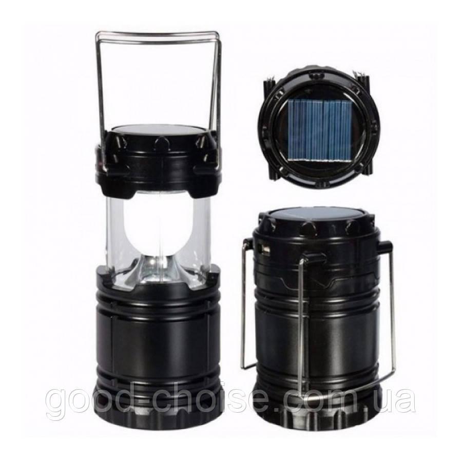 Светодиодный фонарь c солнечной панелью для кемпинга G85