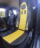 Чехол на сидения формула F-1 плотная и мягкая накидка ВАЗ ЗАЗ LANOS и др.