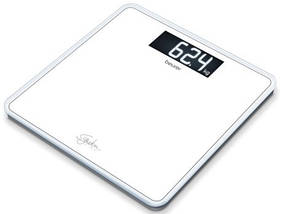 Стеклянные весы Beurer GS 400 Line white