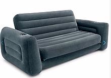 Надувной диван-трансформер Intex 66552 (203 x 224 x 66 см) Практичный и универсальный Pull-Out Sofa