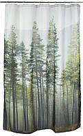 Занавеска для душа 150x200см лес, фото 1