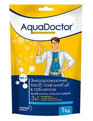 Средство 3 в 1 по уходу за водой длительного действия таб. 200 грамм AquaDoctor MC-T (1кг)
