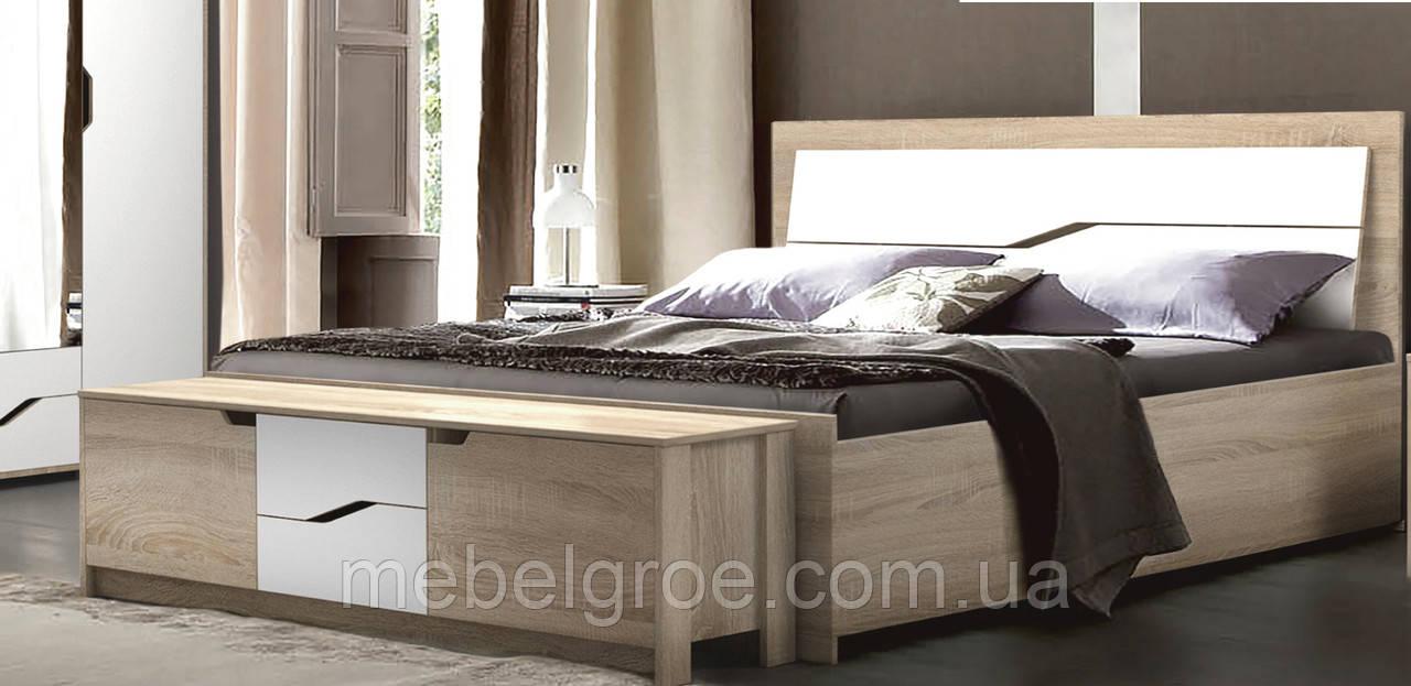 Двухспальная кровать Доминика 140 с подъемным механизмом тм Мастер Форм
