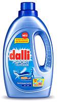 Dalli Sport & Outdoor гель для стирки для стирки спортивной и верхней одежды 1.1 л (20 стирок)