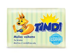 Детское мыло Tindi c кремом 90гр