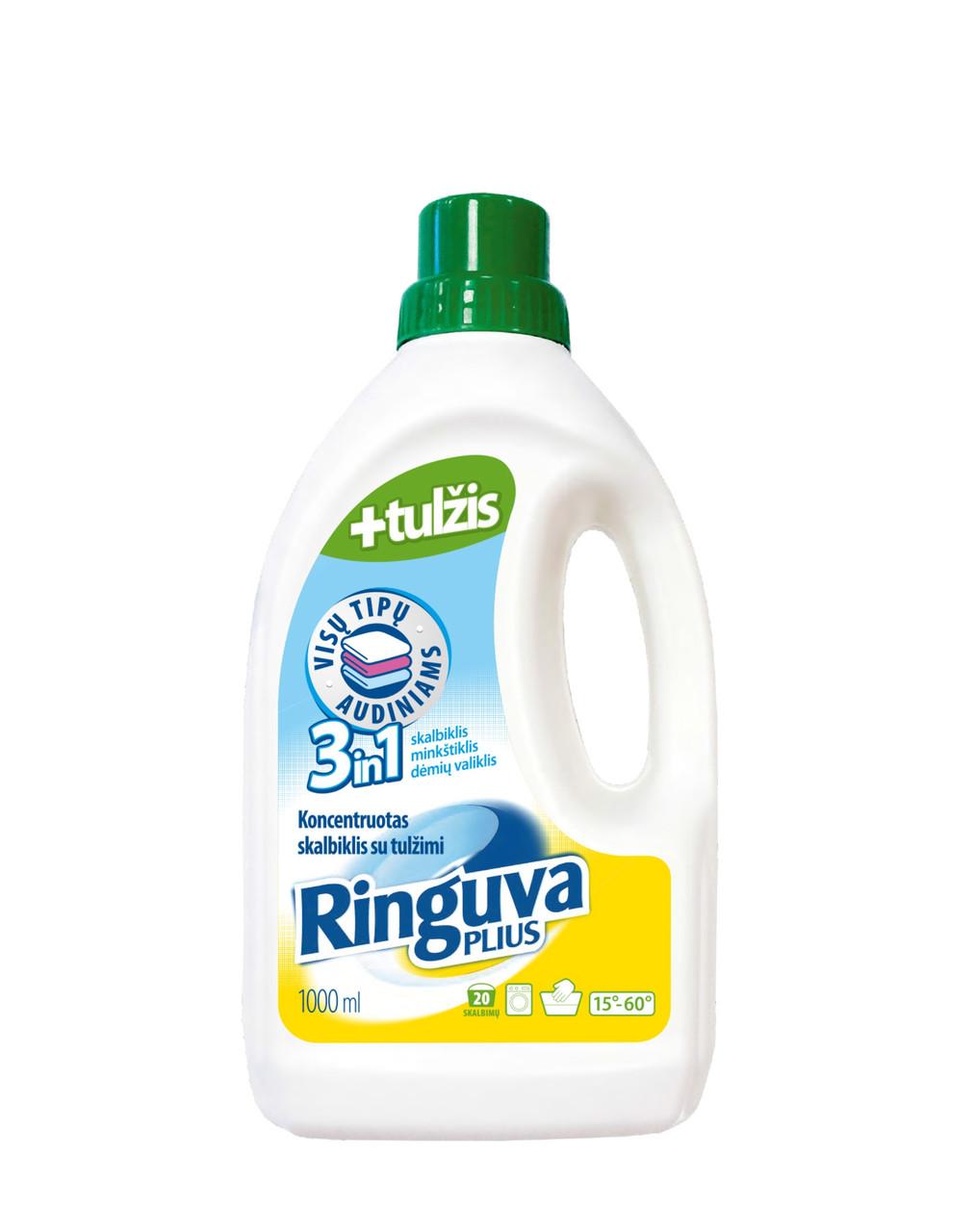 Жидкое средство для стирки Ringuva Plus 3в1 1 л