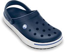 Кроксы унисекс шлепанцы Крокбенд 2 Сабо оригинал / Crocs Crocband II Clog (11989), Темно-синие 37