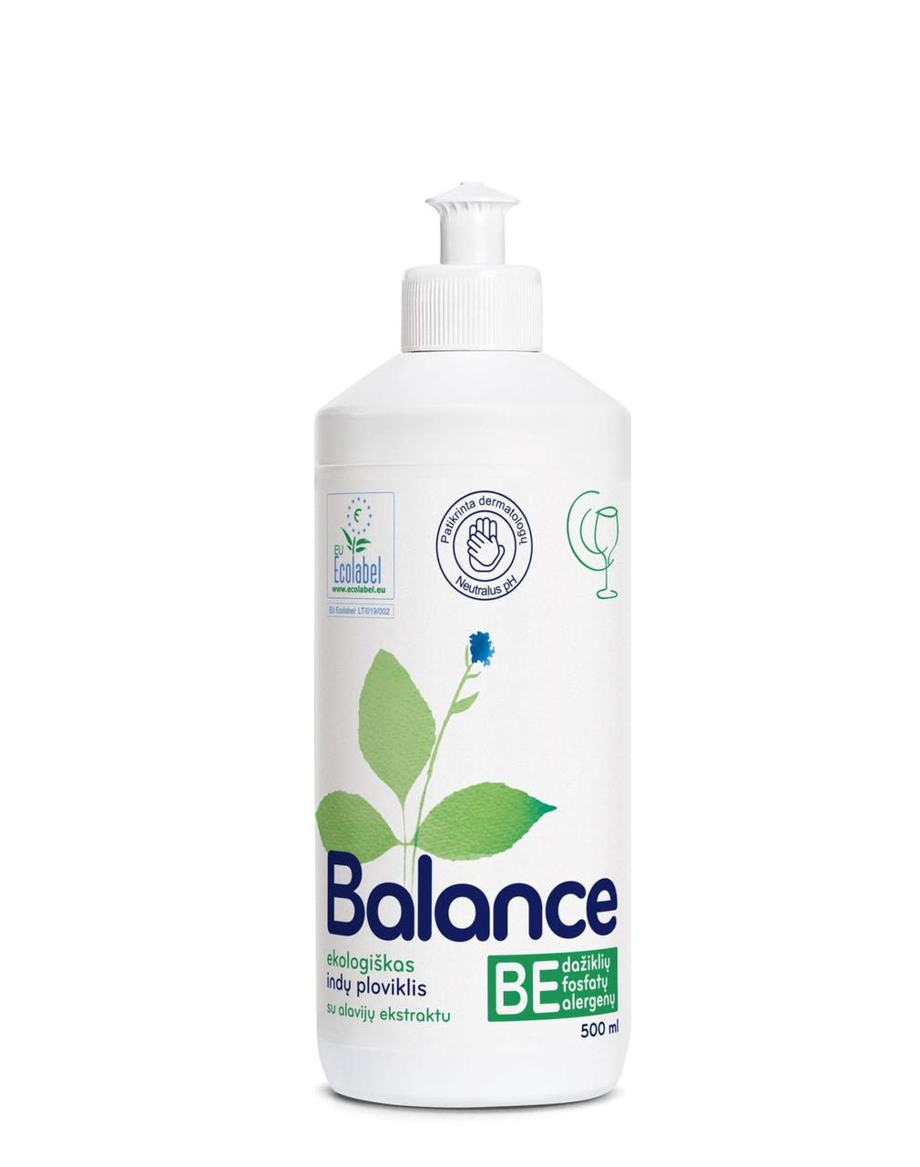 Средство для мытья посуды Balance 0,5л с экстрактом алоэ