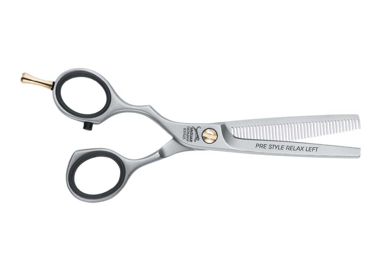 Ножницы для стрижки филлировочные Jaguar Prestyle Relax Left для левши 5.25''